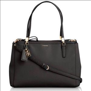GORGEOUS black authentic Coach Christie bag
